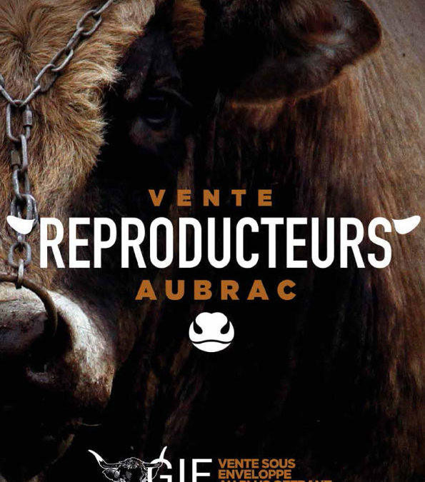 Catalogue de la vente 2019 du GIE Race Aubrac